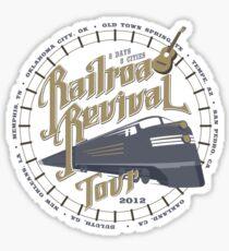 Railroad Revival contest entry Sticker