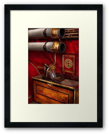 Firemen - An elegant job  by Michael Savad