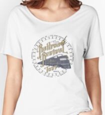 Railroad Revival contest entry - distressed Women's Relaxed Fit T-Shirt