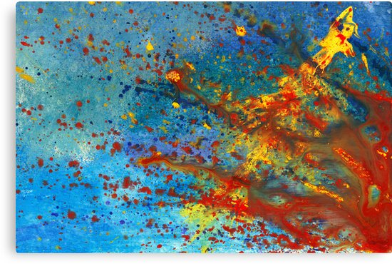 Abstract - Acrylic - Just another Monday by Michael Savad