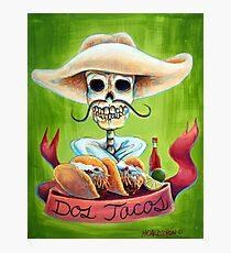 Dos Tacos Photographic Print