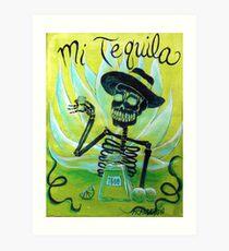 Mi Tequila Kunstdruck
