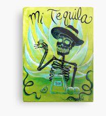 Mi Tequila Metal Print