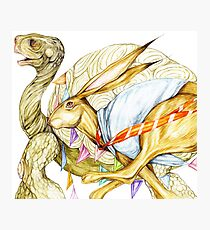 By a Hare Photographic Print