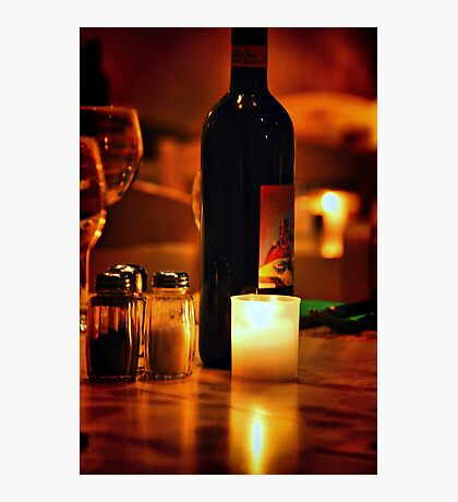 Italian Wine Photographic Print