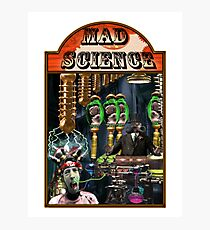 MAD SCIENCE Photographic Print
