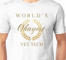 World's Okayest Vet Tech Unisex T-Shirt