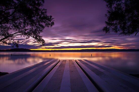 Purple Haze Picnic by bazcelt