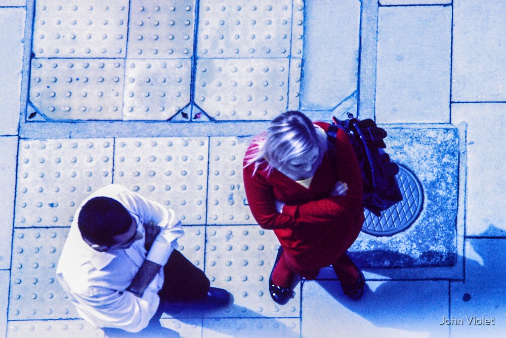 2 Pedestrians by John Violet