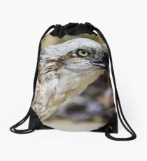 Osprey - Pandion Haliaetus Drawstring Bag