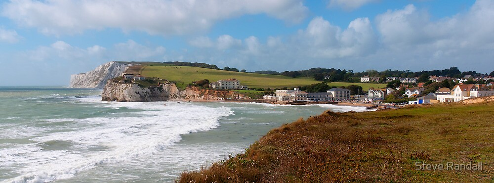 Freshwater Bay - Isle of Wight by Steve Randall