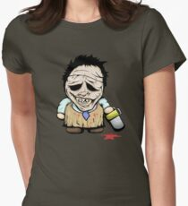 Tiny Leatherface Womens Fitted T-Shirt