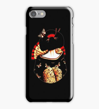 Geisha Girl TShirt iPhone Case/Skin
