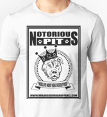 NOTORIOUS PIT BULL T-Shirt