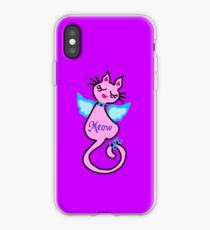 ღ°㋡Swanky-Angelic Cat Splendifereous iPhone & iPod Cases ㋡ღ° iPhone Case