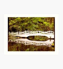 Bridge to the Past Art Print