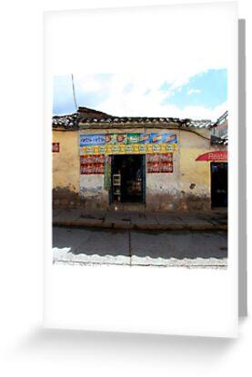General Store, Cuzco Peru by Maggie Hegarty