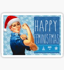 Have a Feminist Christmas! Sticker