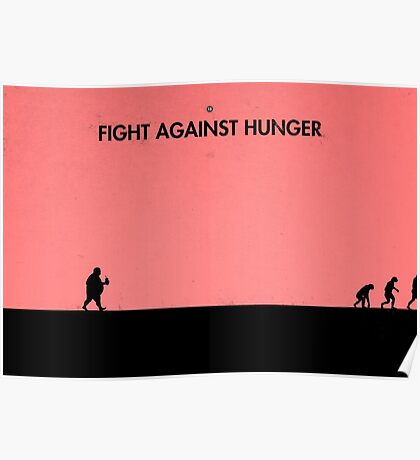 99 Steps of Progress - Fight against hunger Poster