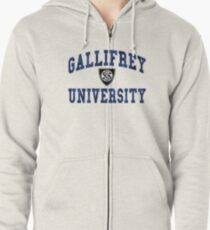 Gallifrey University Zipped Hoodie
