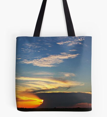 Dark Horizon Tote Bag