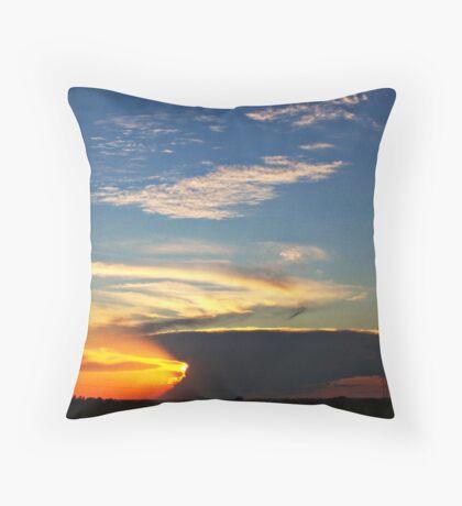 Dark Horizon Throw Pillow