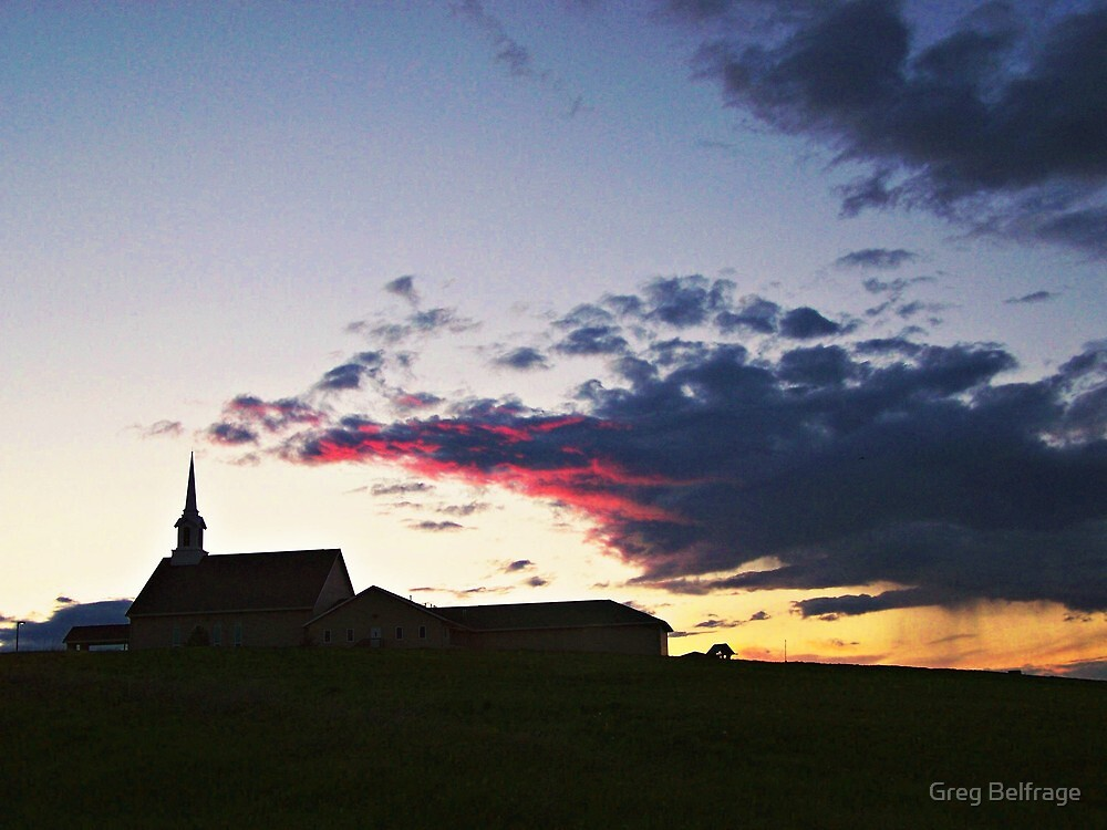 Prairie Parish by Greg Belfrage