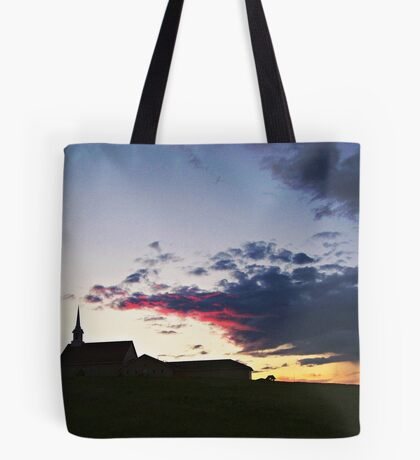 Prairie Parish Tote Bag