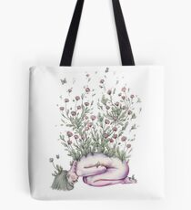 """""""From my rotting body, flowers shall grow and I am in them and that is eternity."""" Tote Bag"""