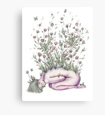 """""""From my rotting body, flowers shall grow and I am in them and that is eternity."""" Canvas Print"""