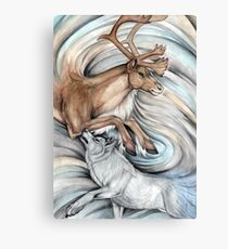 The Hunter and Hunted Canvas Print