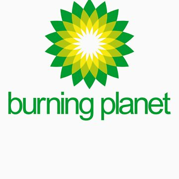 BP - Burning Planet (white) by Tunic