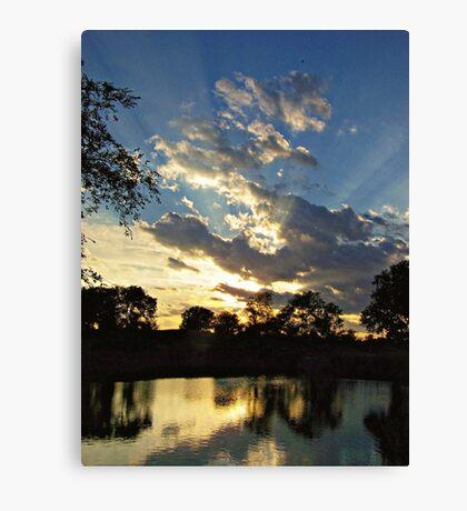 Majestic Skies Canvas Print