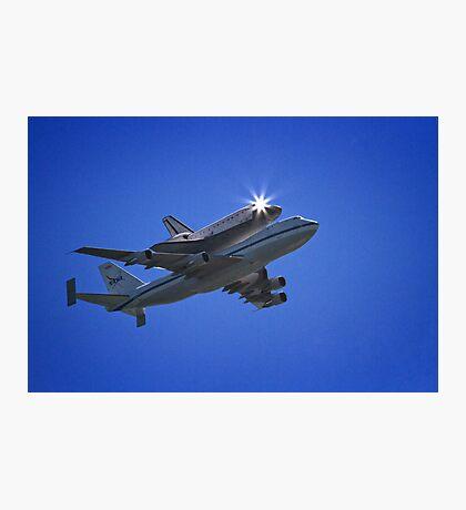 Endeavor Fly Over - Long Beach, California Photographic Print