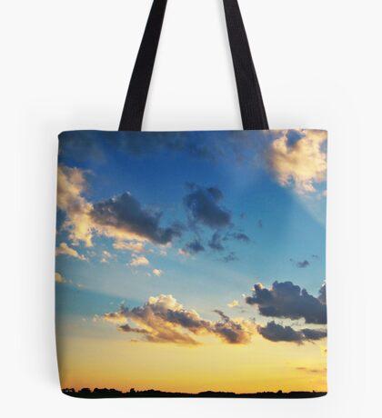 Radiant Beams Tote Bag