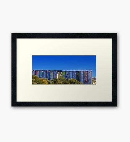 S1 Framed Print