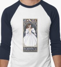 Sarah Nouveau - Labyrinth Baseballshirt mit 3/4-Arm