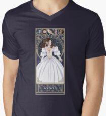 Sarah Nouveau - Labyrinth T-Shirt mit V-Ausschnitt