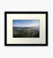 Aerial view of Daintree National Park, Queensland, Australia Framed Print