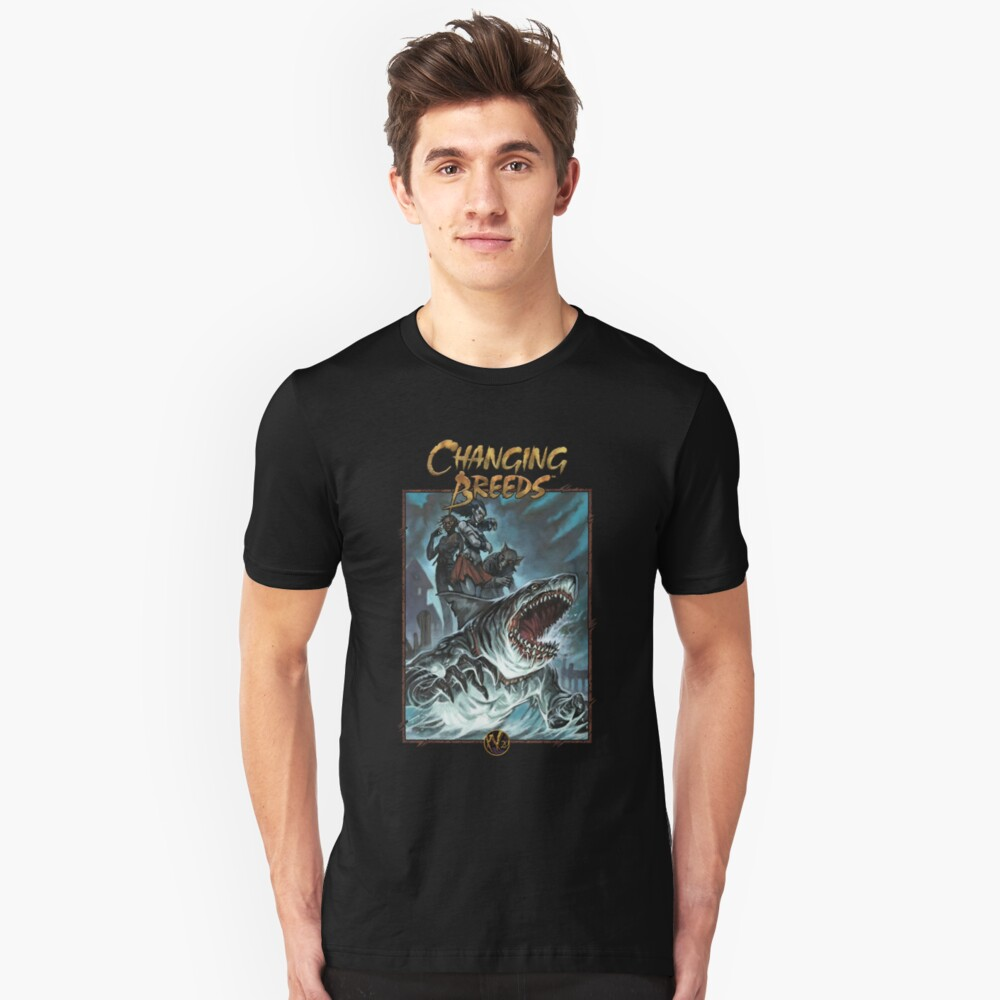 Apocalypse Art and Logo: Changing Breeds 4 Slim Fit T-Shirt