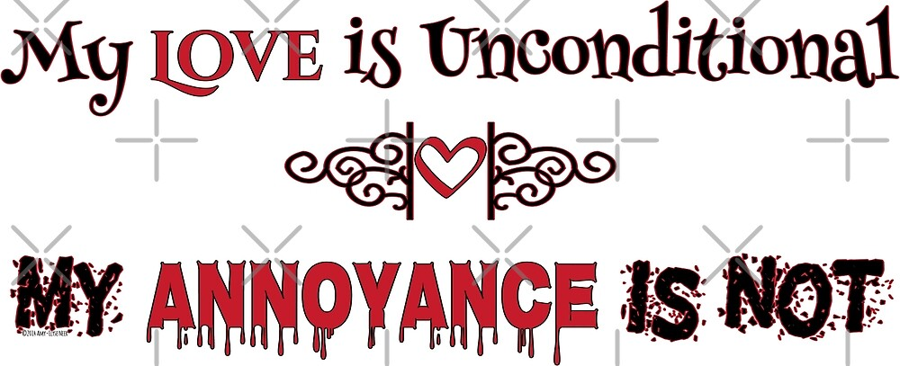 Love and Annoyance by Amy-Elyse Neer