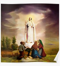 Our Lady of Fatima Poster
