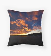 Waxholm Castle  Throw Pillow