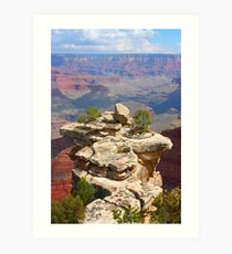 Grand Canyon Outcropping Art Print