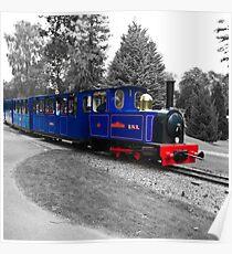 Minature Train - Bicton Gardens Poster