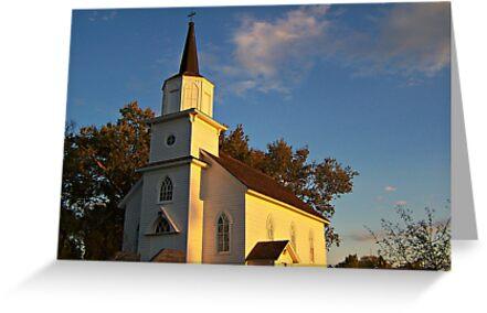 Beaver Creek Church by Greg Belfrage