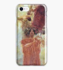 Gustav Klimt Composition for Medicine iPhone Case/Skin