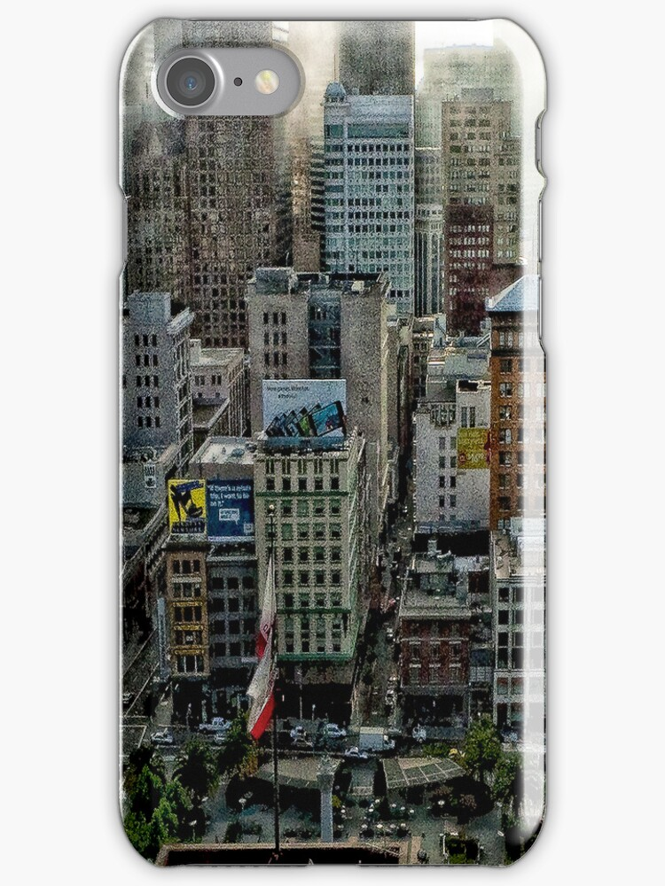 San Francisco Iphone case by susan stone