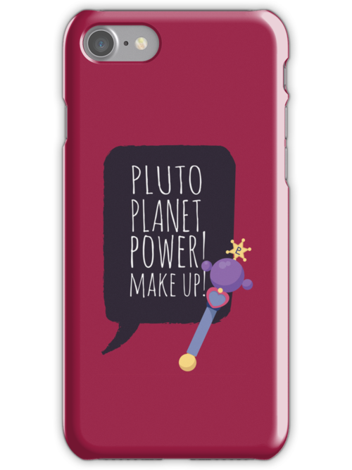 Pluto Planet Power! by gallantdesigns