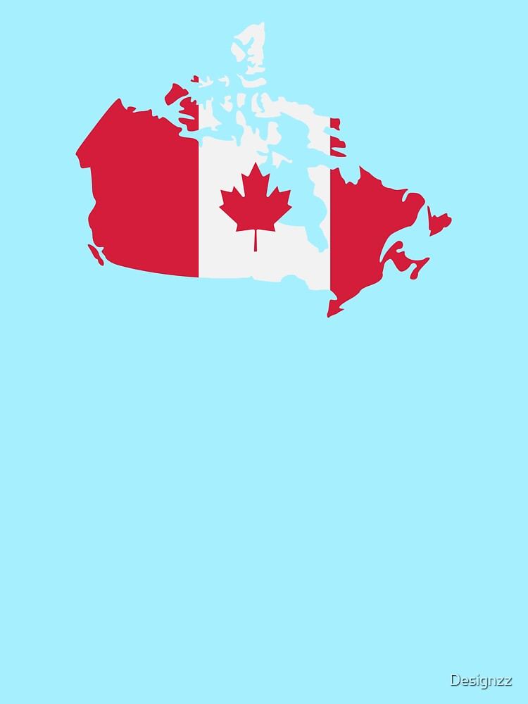 Canada Map Flag.Canada Map Flag Women S Fitted Scoop T Shirt By Designzz Redbubble